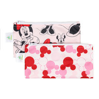 Bumkins Small Snack Bag - Minnie Mouse (2 Pack)
