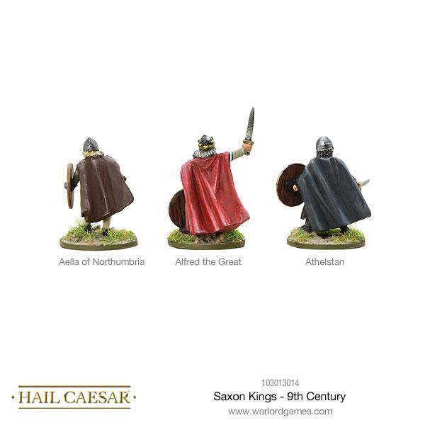 Saxon Kings - 9th Century
