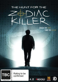 The Hunt for the Zodiac Killer on DVD