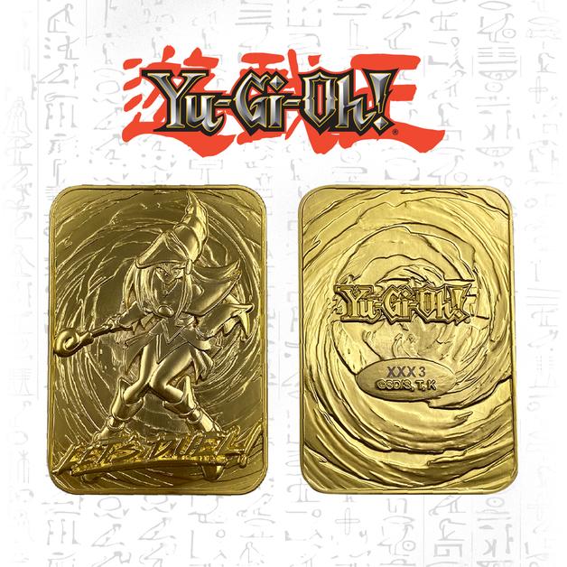 Yu-Gi-Oh: Metal Card (24K Gold Plated) - Dark Magician Girl