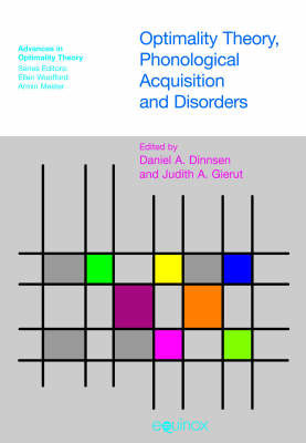 Optimality Theory, Phonological Acquisition and Disorders