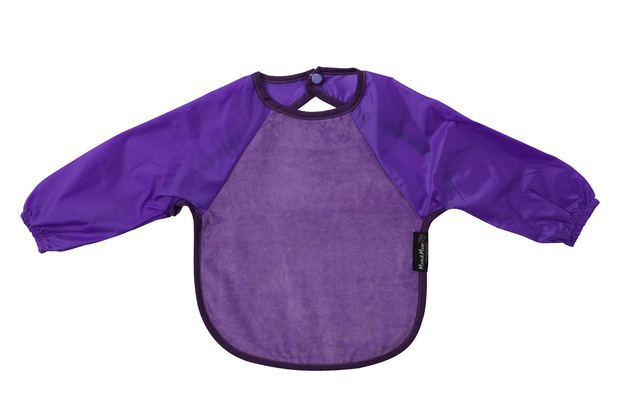 Mum 2 Mum Sleeved Wonder Bib (6-18 Months) - Purple