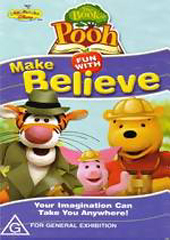 Winnie The Pooh - Book of Pooh - Fun With Make Believe on DVD