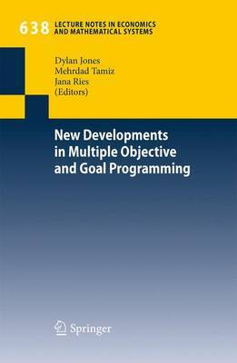 New Developments in Multiple Objective and Goal Programming image