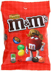 M&M's Peanut Butter Peg Bag (144.6g)