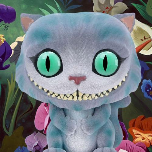 Alice in Wonderland - Cheshire Cat (Flocked) Pop! Vinyl Figure image