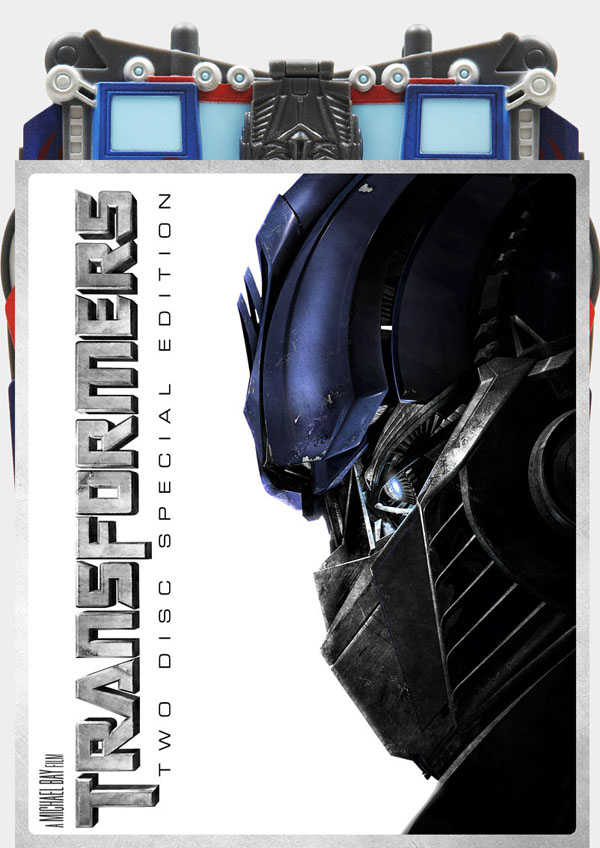 Transformers -  Optimus Prime 'Transforming' Collector's Pack (2 Disc Box Set) on DVD image