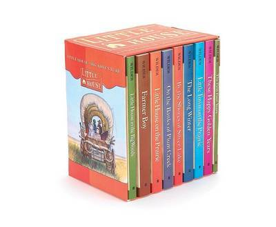 The Complete Little House Boxed Set (9 Books) by Laura Ingalls Wilder image