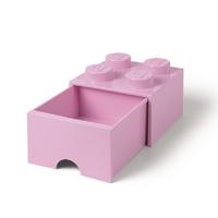 LEGO Storage Brick Drawer 4 (Light Pink)