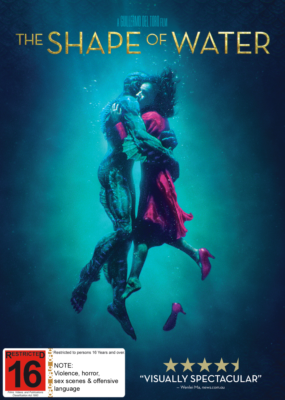 The Shape Of Water on DVD image