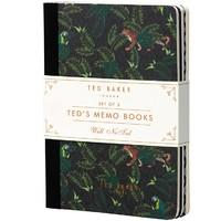 Ted Baker: Memo Books (Set of 3)