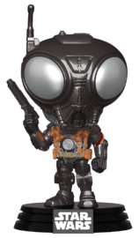 Star Wars: The Mandalorian - Q9-Zero (Metallic) Pop! Vinyl Figure image