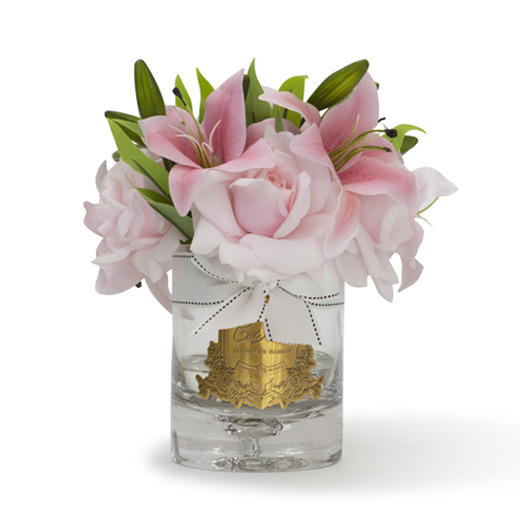 Cote Noire: Luxury Lilies & Roses Fragrance Diffuser - Pink