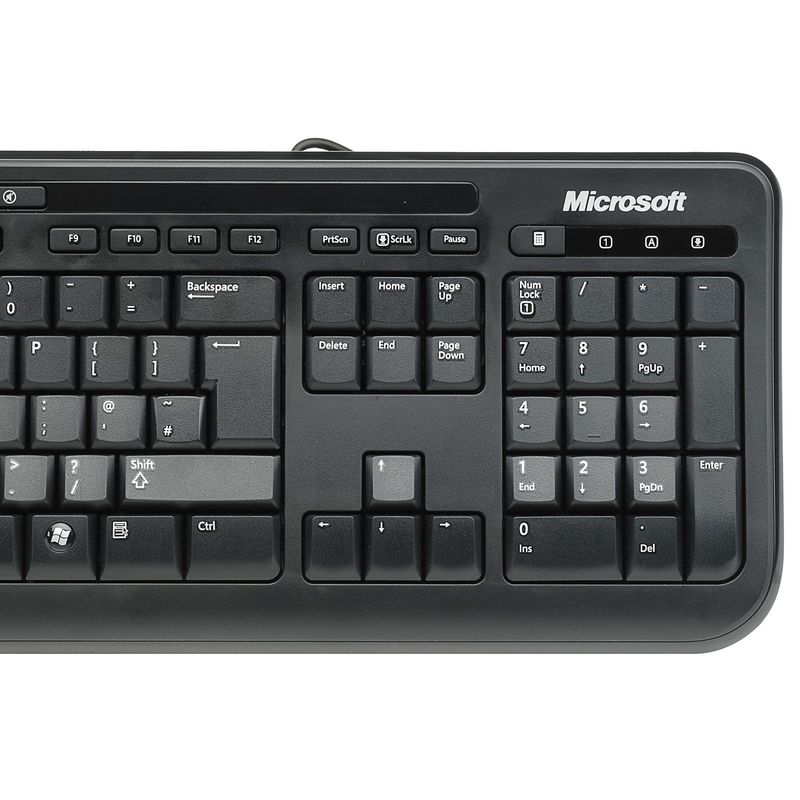 microsoft wired desktop 600 keyboard mouse at mighty ape nz. Black Bedroom Furniture Sets. Home Design Ideas