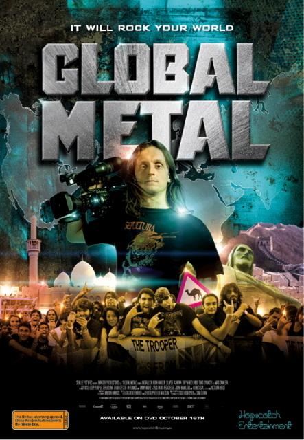 Global Metal on DVD