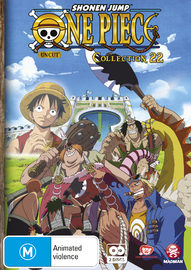 One Piece: Uncut - Collection 22 (Eps 264-275) on DVD