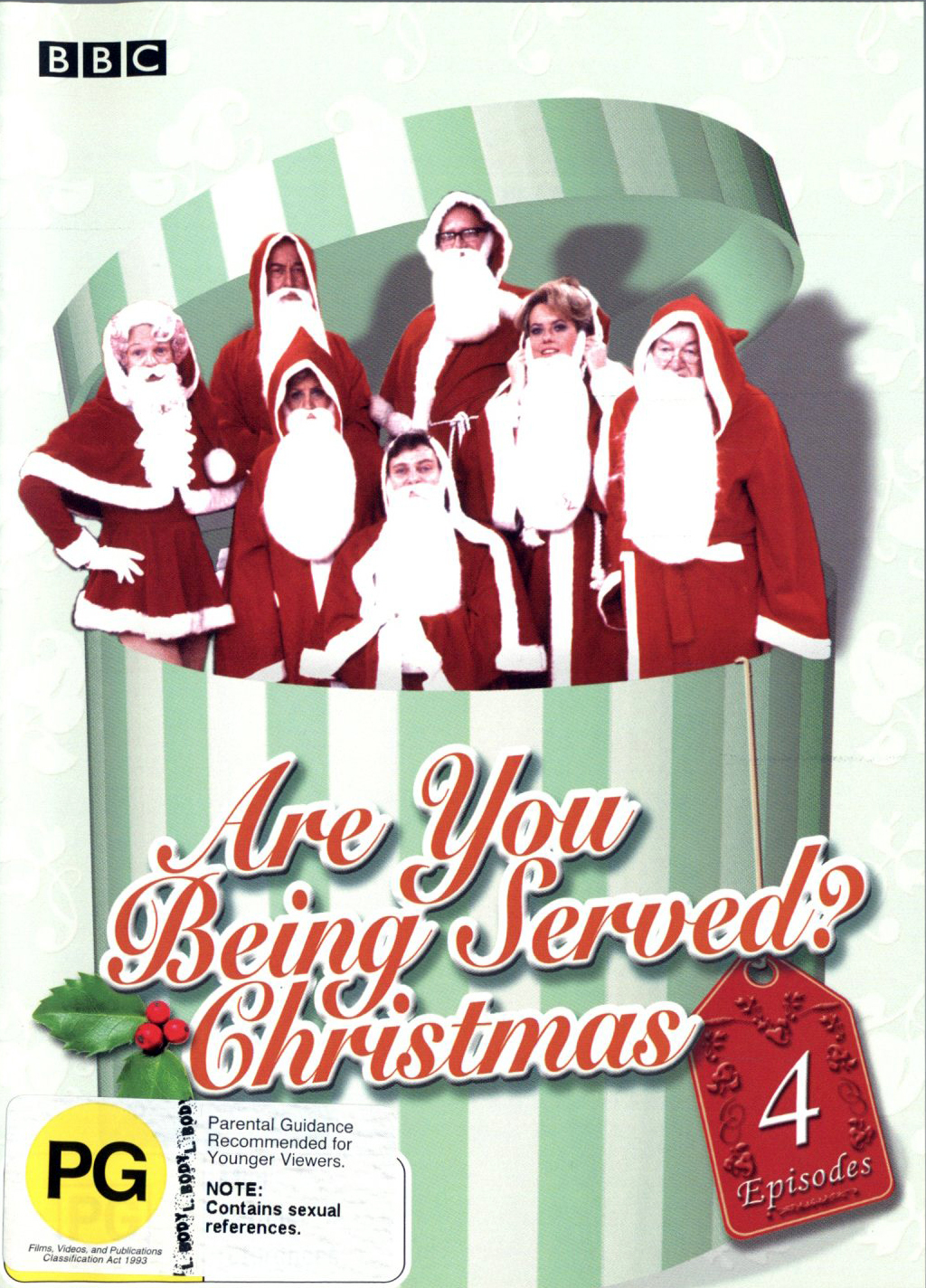Are You Being Served? Christmas on DVD image