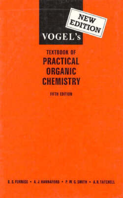 Vogel's Textbook of Practical Organic Chemistry by Arthur Israel Vogel image