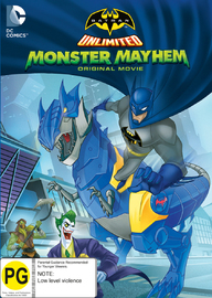 Batman Unlimited: Monster Mayhem on DVD