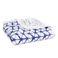 Aden + Anais: Indigo Silky Soft Dream Blanket