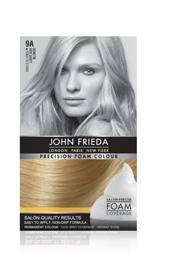 John Frieda Precision Foam Colour - 9A (Light Ash Blonde) image