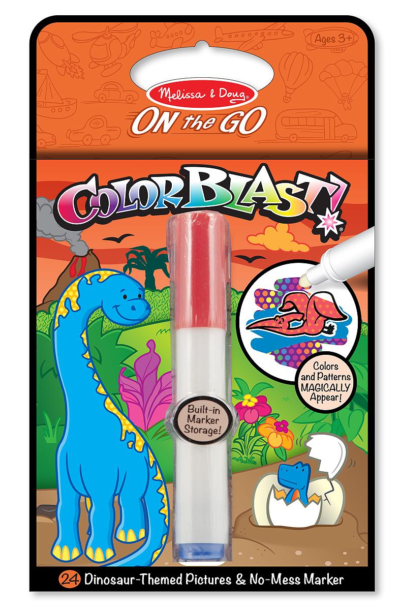 Melissa & Doug: Colour Blast! Dinosaurs image