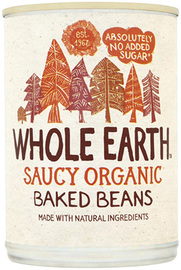 Whole Earth Saucy Organic Baked Beans 400g