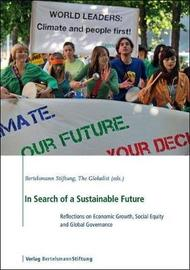 In Search of a Sustainable Future by Bertelsmann Stiftung