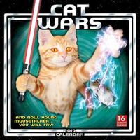 Cat Wars 2019 Square Wall Calendar by Sellers Publishing Inc