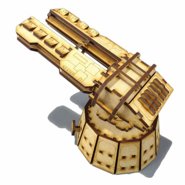 TTCombat: Tabletop Scenics - Railgun Defence Platform