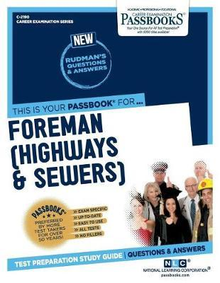 Foreman (Highways & Sewers) by National Learning Corporation image