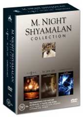 M. Night Shyamalan Box Set (Unbreakable, Sixth Sense & Signs) on DVD