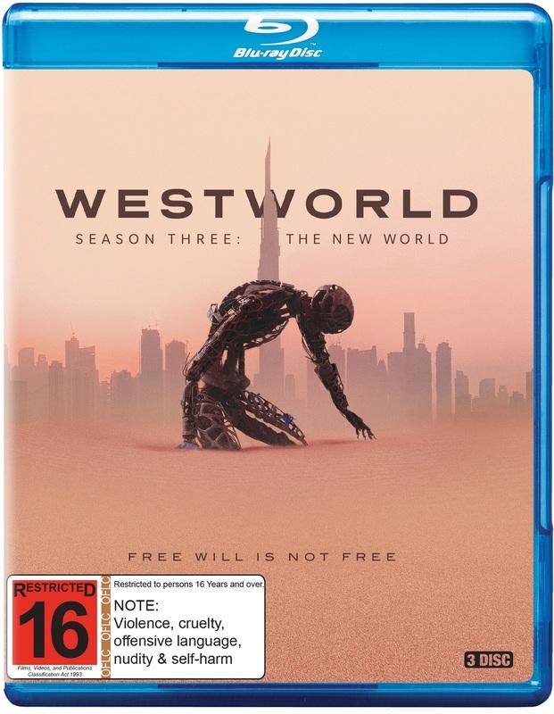 Westworld: Season 3 on Blu-ray