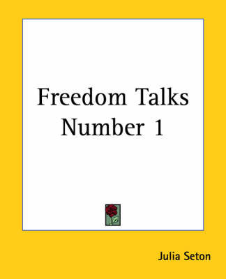 Freedom Talks Number 1 by Julia Seton image