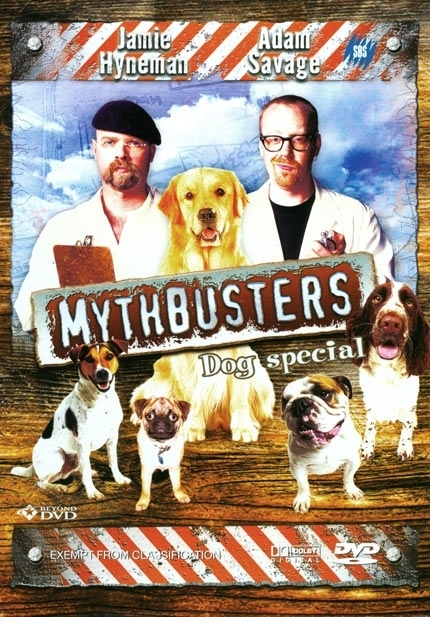 Mythbusters - Dogs Special on DVD