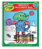 Crayola - My First Mix & Match Colouring Book
