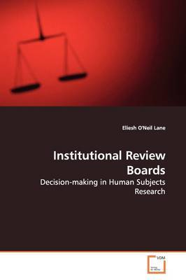 Institutional Review Boards by Eliesh O'Neil Lane image