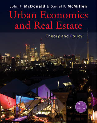 Urban Economics and Real Estate by John F McDonald image