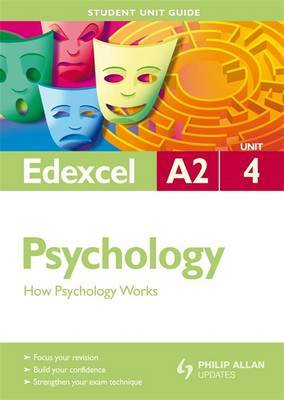Edexcel A2 Psychology: Unit 4 by Christine Brain image