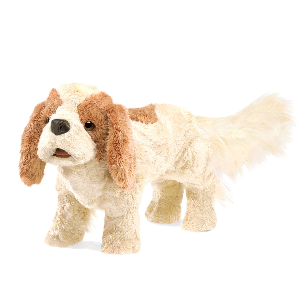 Folkmanis Hand Puppet - Cavalier King Charles Spaniel image