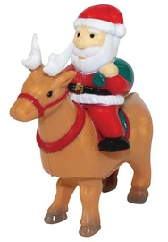 IS Gifts: Santa Riding Reindeer - Wind-Up Toy