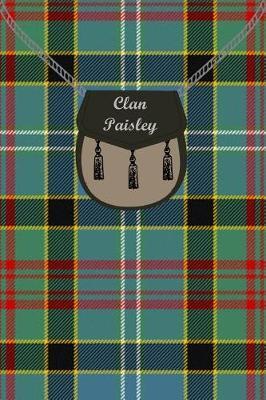 Clan Paisley Tartan Journal/Notebook by Clan Paisley