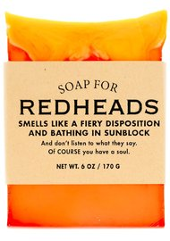 Whiskey River Co: Soap for Redheads