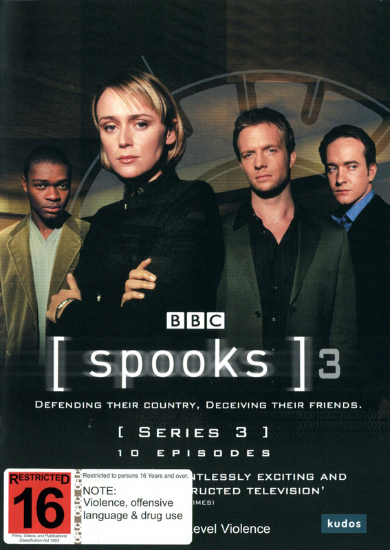 Spooks - Season 3 (3 Disc Set) on DVD