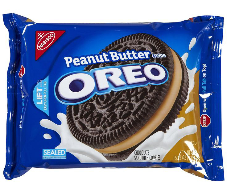 Oreo Peanut Butter Creme Cookies (432g) image