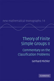 Theory of Finite Simple Groups II by Gerhard Michler image