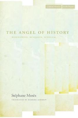 The Angel of History by Stephane Moses image