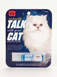 Blue Q Breath Spray - Talk With Your Cat (7.5 ml)