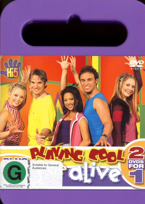 Hi-5 - Playing Cool Plus Five Alive on DVD image