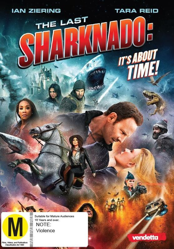 The Last Sharknado: It's About Time on DVD